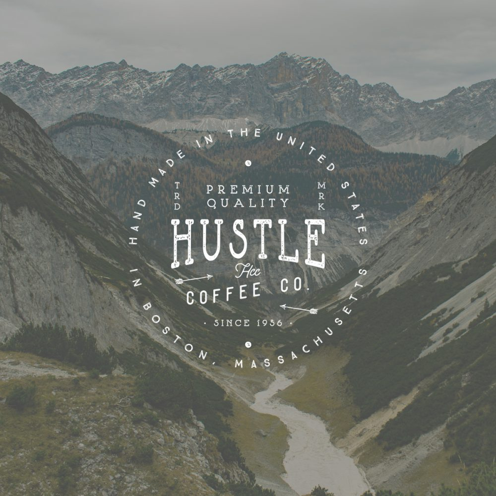Hustle Coffee Logo
